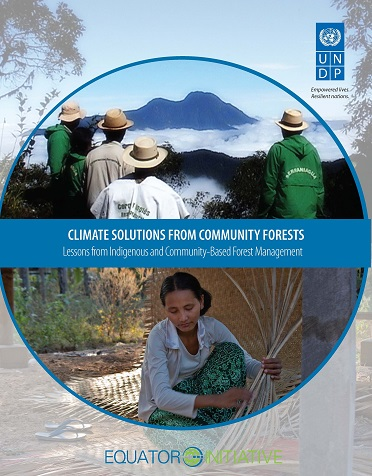 Climate Solutions Community Forests Cover
