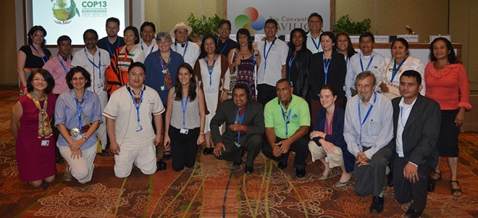 Equator Initiative at Thirteenth Meeting of the Conference of the Parties to the Convention on Biological Diversity